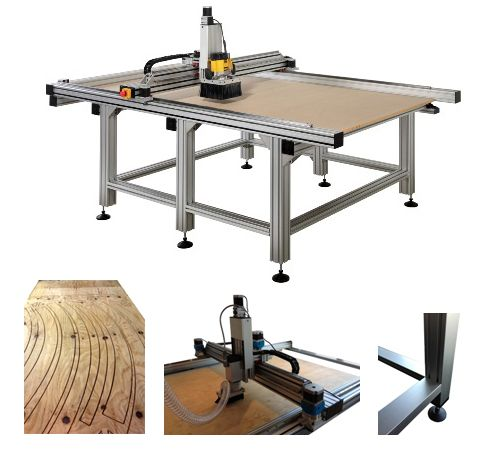 8'x4' CNC router...could do so much with this big guy