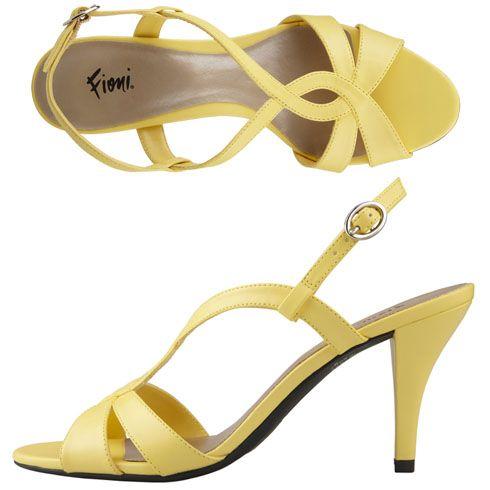 Yellow Heels Wedding Shoes