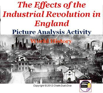 the effects of the industrial revolution on the world Introduction the era known as the industrial revolution was a period in which fundamental changes occurred in agriculture, textile and metal manufacture, transportation, economic policies and the social structure in england.