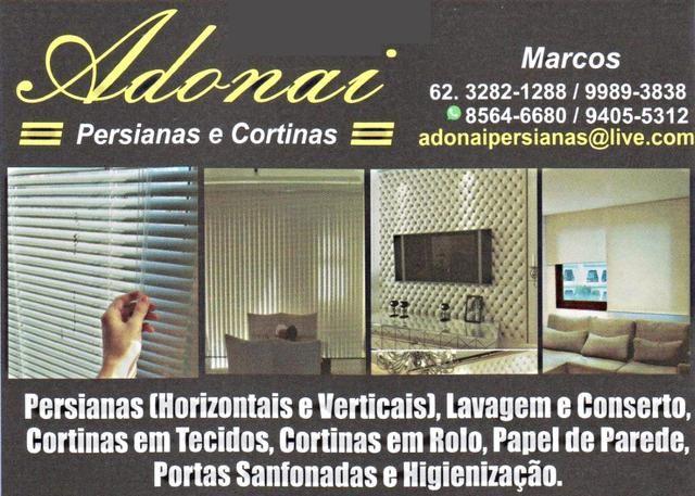 Eu recomendo Adonai Persianas- Vila São Jorge, #Aparecida de Goiânia, #Goiás, #Brasil