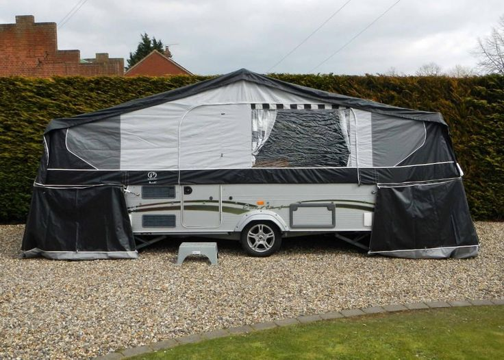 Pennine Quartz 6 Folding Camper Caravan Trailer Tent