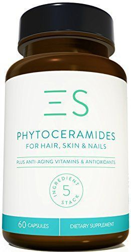Product review for Essential Stacks 350 mg Plant-Based Phytoceramides for Anti Aging - 60 Count - 2 Months Supply  - WOMEN AND MEN looking to support their skin, hair and nails, agree that Essential Stacks' phytoceramides are the smartest choice for them because.. – 350MG PLANT-BASED PHYTOCERAMIDES PER CAPSULE – unlike other supplements that use just 40 mg of phytoceramides, Essential...