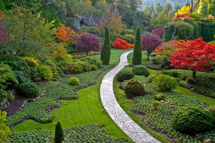 Butchart Gardens - Vancouver Island, British Columbia, Canada