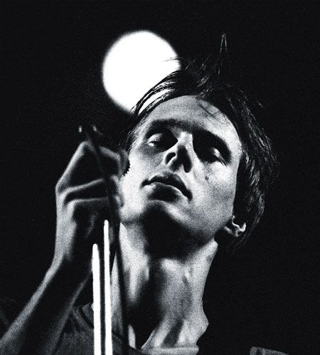 Credit: Howard Barlow Tom Verlaine of Television at the Manchester Free Trade Hall on 26 May 1977