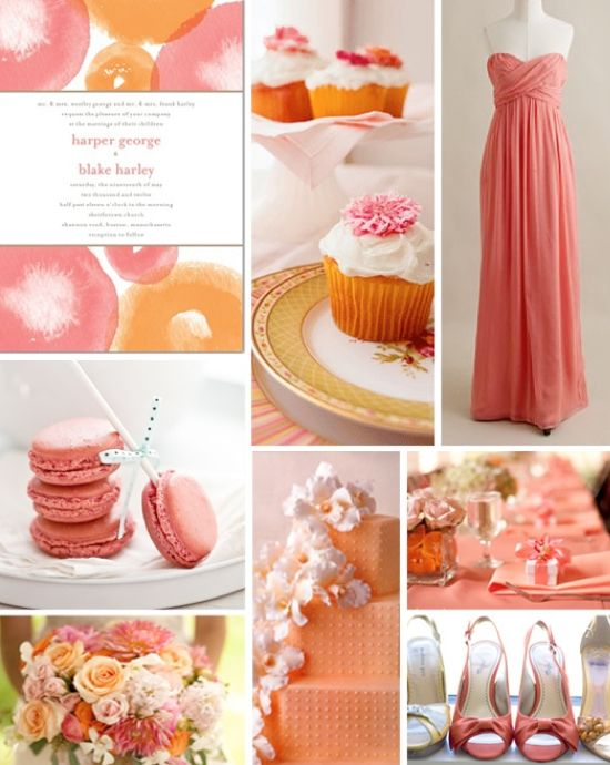 Coral And Peach Wedding001 Wedding Ideas Trends Galleries