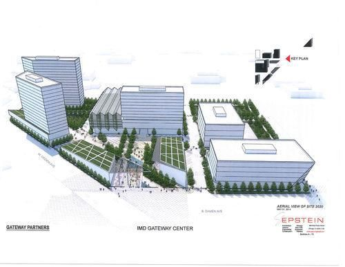 """""""The Gateway Project is finally, definitely coming to the Medical District"""" -- Curbed Chicago, 3/5/2015"""