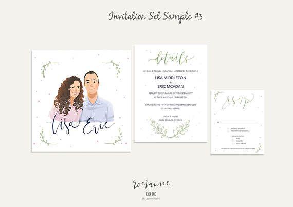 Illustrated Wedding Invitations: 25+ Best Ideas About Illustrated Wedding Invitations On