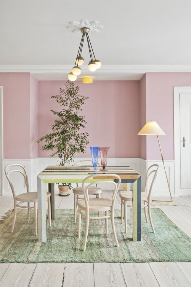 Rainbow Connection: 30 Inspiring Colorful Interiors via Brit + Co