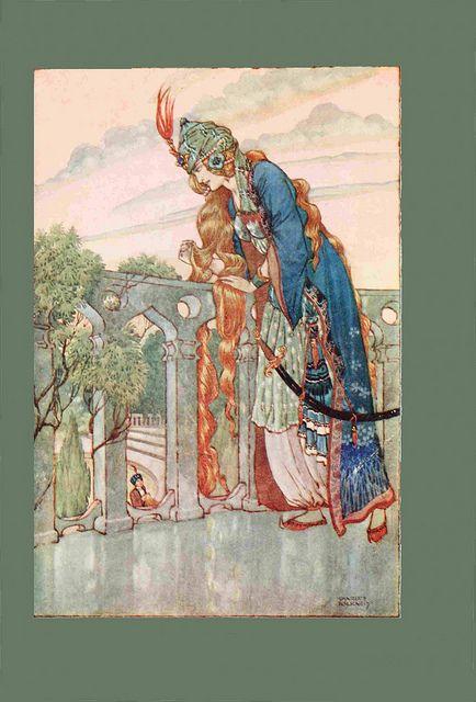 Ottoman Tales Charles Folkard