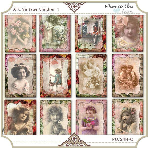 ATC Vintage Children 1