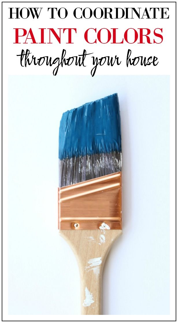 Coordinate Paint Colors Throughout Your Home | Home Painting Ideas | Home Paint Colors | Home Paint Schemes | Paint Colors for Home