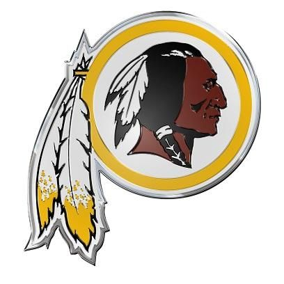 WASHINGTON REDSKINS AUTO / LAPTOP EMBLEM