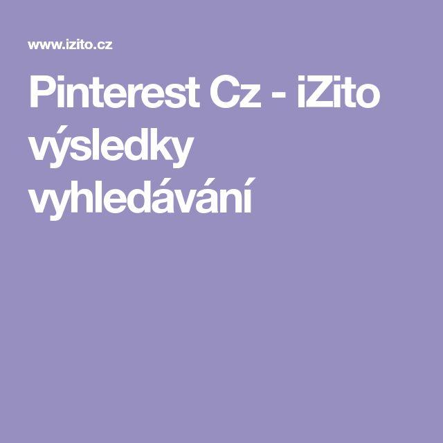 Pinterest Cz - iZito výsledky vyhledávání