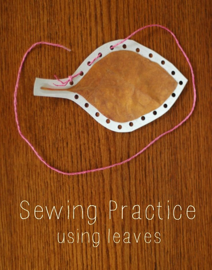 glue down leave - cut round leave - sew around the outside!!!