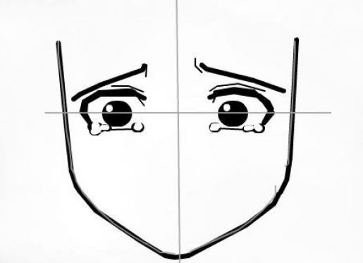 how to draw anime eyes crying how to draw manga