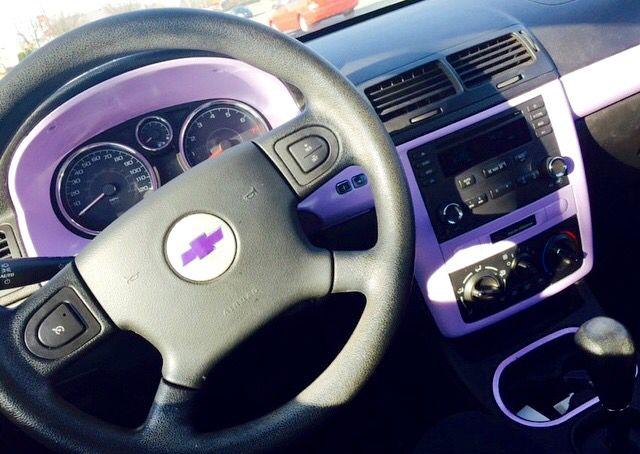 Chevy Cobalt Purple Trim Interior