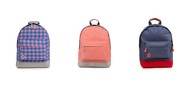 Back to school with Mi-Pac backpacks at Debenhams