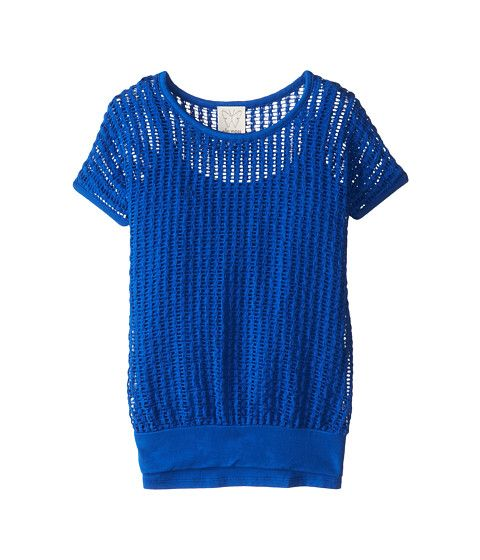 Ella Moss Girl Textured S/S Top and Cami (Big Kids)