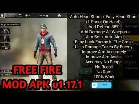 free fire battlegrounds v1 17.1 mega mod apk