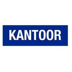 #Tekstbord / Standaard teksten / Tekstborden blauw / Kantoor