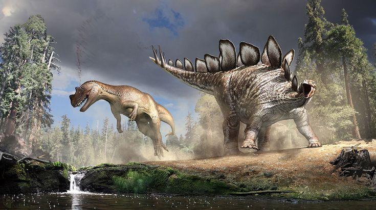 Stegosaurus vs Ceratosaurus // Bob Nicholls for the London Natural ...