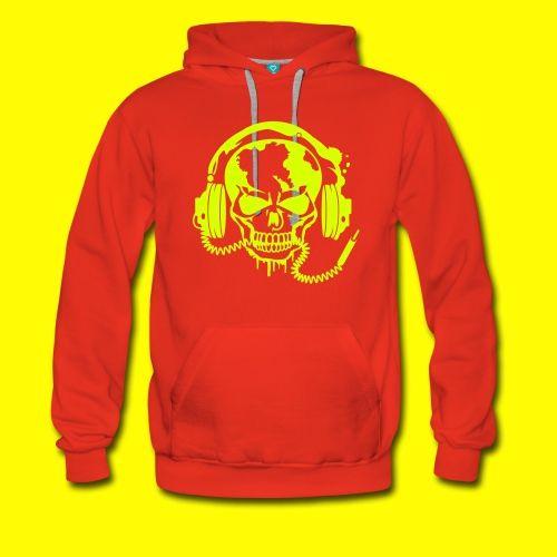 SWEATSHIRT ROCK - Sweat-shirt à capuche Premium pour hommes