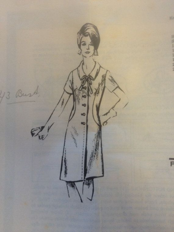 1960s Womens dress from the Sun News Pictorial Melbourne AUSTRALIA 8143 Mail order Vintage Sewing Pattern