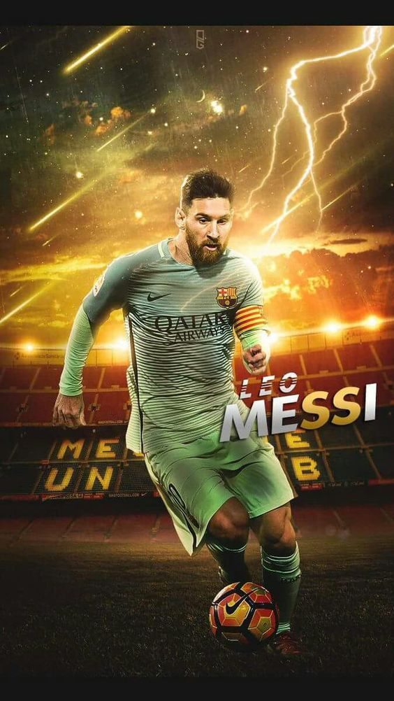 "Lionel Andrés ""Leo"" Messi is an Argentine professional footballer who plays as a forward for Spanish club FC Barcelona and the Argentina national team. Wikipedia Born: 24 June 1987 (age 30), Rosario, Argentina Height: 1.7 m Spouse: Antonella Roccuzzo (m. 2017) Salary: 40 million EUR (2016) Children: Thiago Messi, Mateo Messi Did you know: Lionel Messi has the most goals scored (5) in the FIFA Club World Cup. wikipedia.org #futbolmessi"