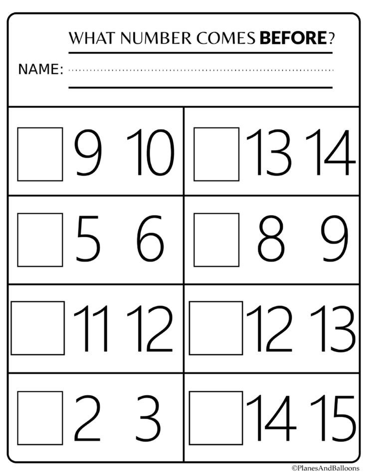 Number Order Kindergarten Free Printable Worksheets: Numbers 1-20  Kindergarten Math Worksheets, Kindergarten Math Worksheets Free,  Kindergarten Math Numbers