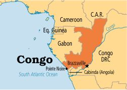 Around the World in 235 Days ~ Day #20 (April 27, 2012): Pray for Republic of Congo (Africa).