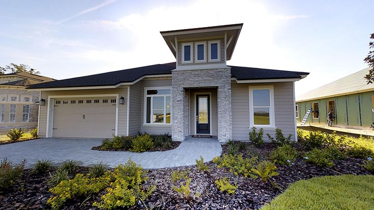 46 best magnificent elevations by ici homes images on for Oakmont home builders