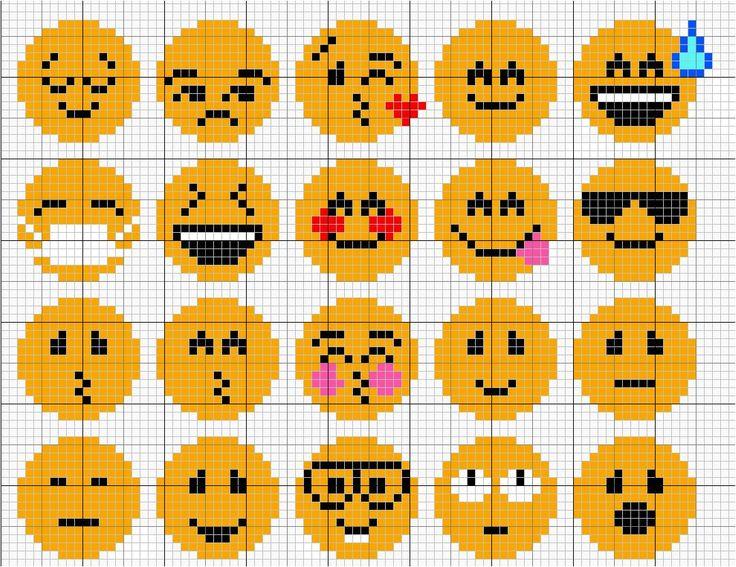 Les 10 meilleures images du tableau smileys 2 sur - Smiley perle a repasser ...
