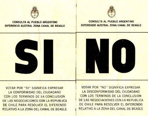 Se puso fin a los conflictos con Chile, por los cuales los militares estuvieron por ir a la guerra, y que los partidos de oposición querían dejar abiertos. Lo hizo previa una consulta popular.