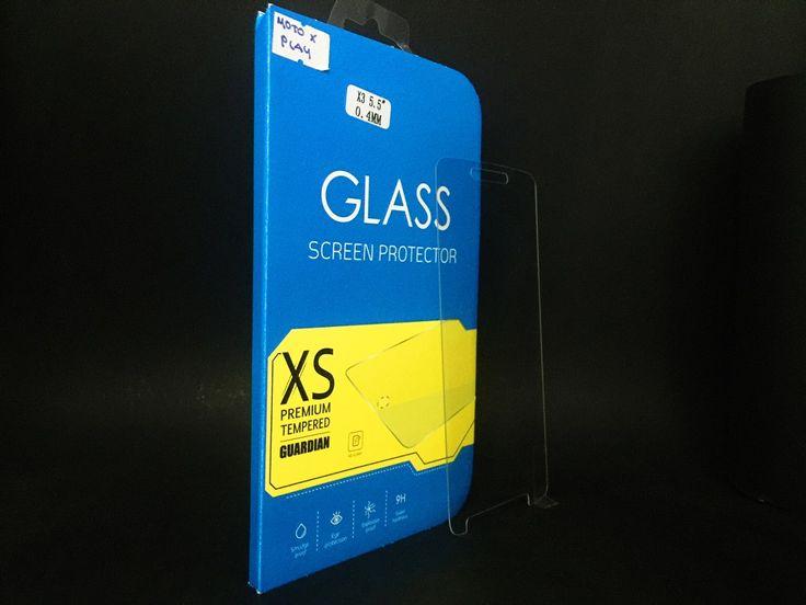 (54) Mica Cristal Templado Moto X Play 5.5 Gorilla Glass - $ 179.99 en MercadoLibre