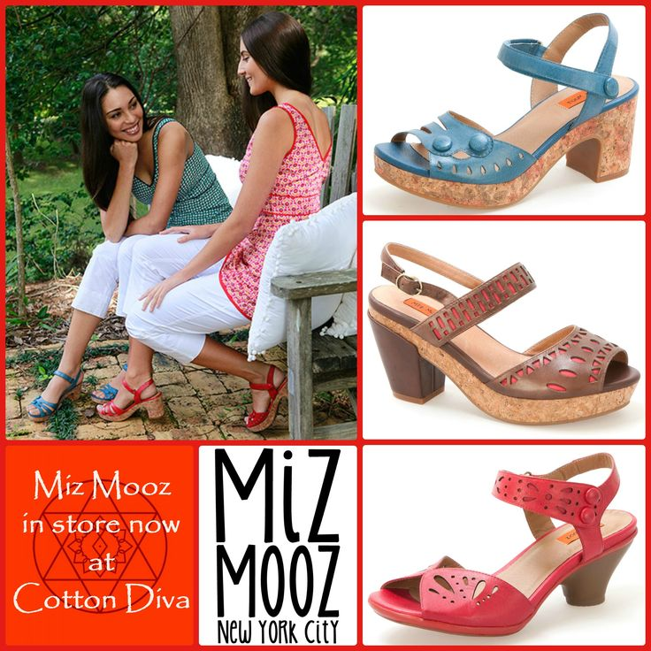 We love Miz Mooz shoes...in store now!