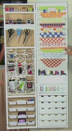 Hampton Art Jinger Adams Craft Armoire: Adams Craft, Organizing Craft, Craft Organization, Jinger Adams, Hampton Art, Art Jinger, Craft Rooms