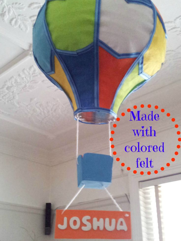 Cute Handmade Hot Air Balloon Light Shade   Kids Lighting  Childrens Lights    55 00. 19 best Felix s room images on Pinterest