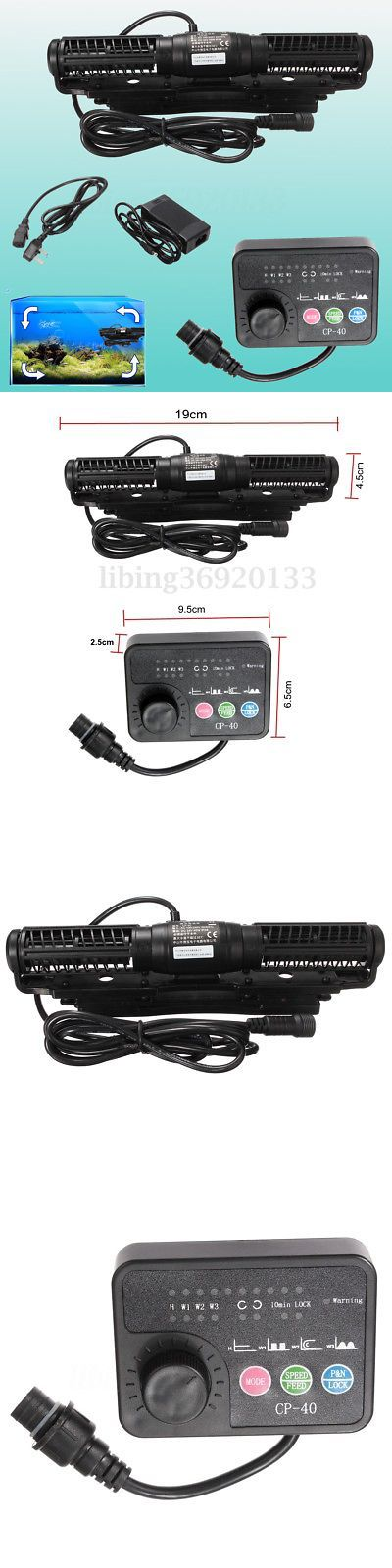 Pumps Water 77641: Jebao Cp-40 Cross Flow Wave Pump Maker Wavemaker Aquarium Fish Reef Coral Us -> BUY IT NOW ONLY: $79.48 on eBay!