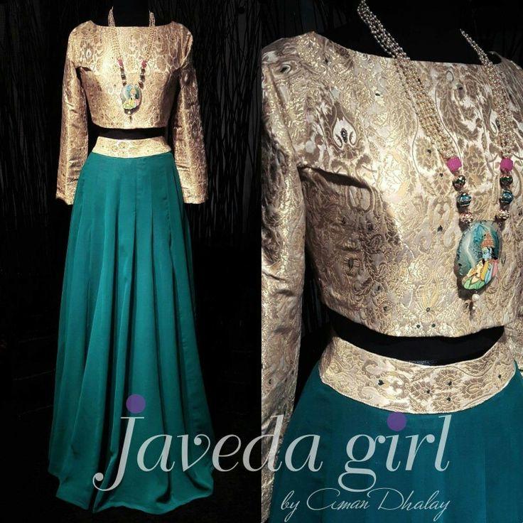 Flirty teal ● #Javedagirl #readytowear www.javeda.com