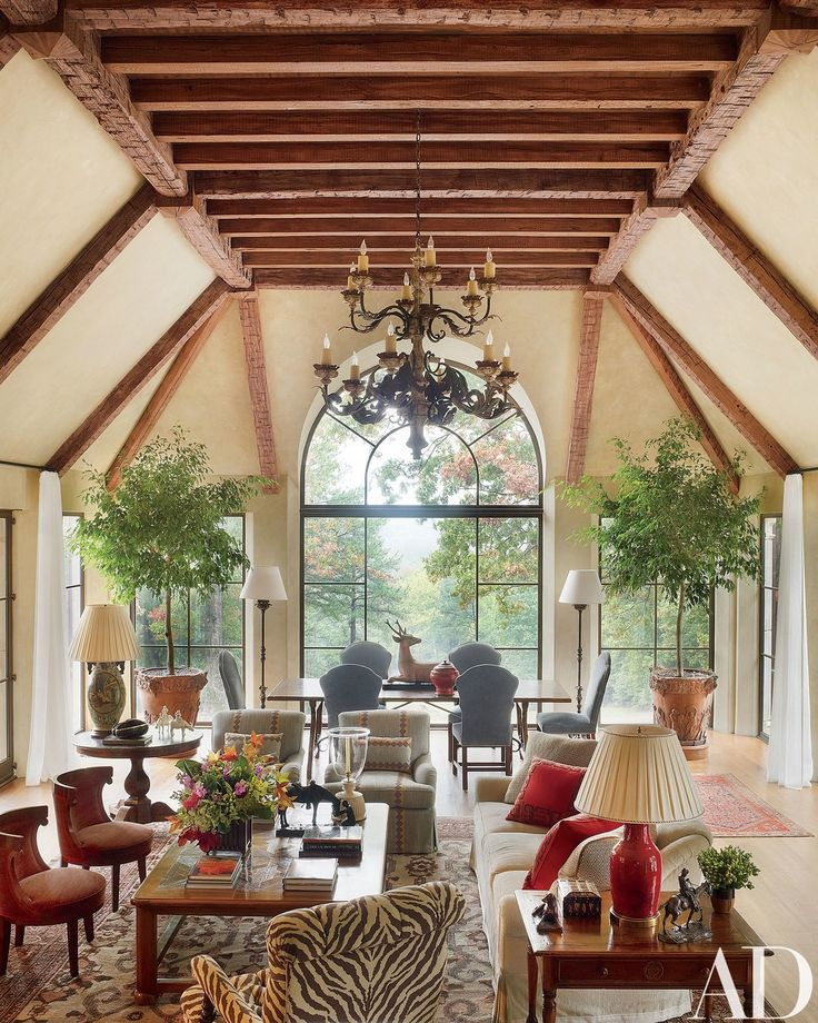Georgian Style Home In Virginia ~ The Expansive Great Room