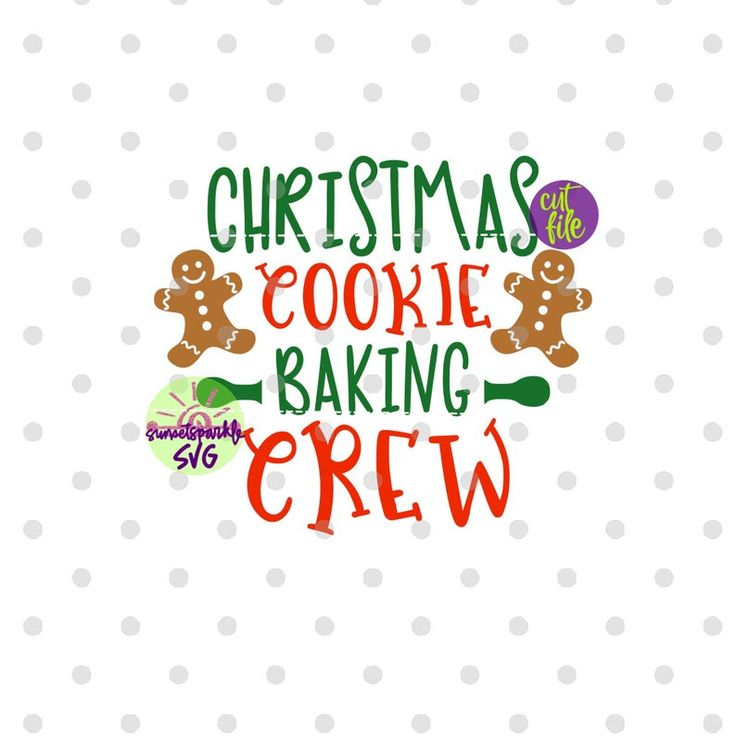 Download Christmas Cookie Baking Crew svg, Baking Crew svg, dxf ...