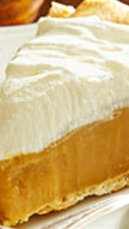True Butterscotch Pie!!                                                                                                                                                                                 More