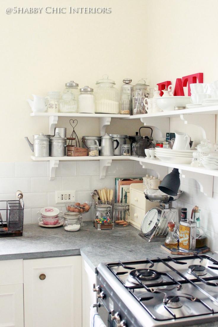 Shabby Chic Interiors: Restyling di una cucina Ikea ...