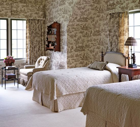 Bedroom Decorating Ideas Totally Toile: 316 Best Toile: A Classic Images On Pinterest