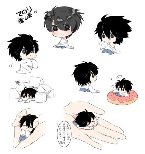cute chibi L | Since Forever,Part of Me | Pinterest ...