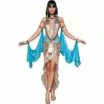 Disfraz De Cleopatra P/ Damas, Envio Gratis