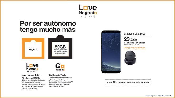 #AUTONOMOS Estés donde estés, tu nueva oficina. Con Samsung DeX y #GalaxyNote8 #DoBiggerThings 📱✏️💻