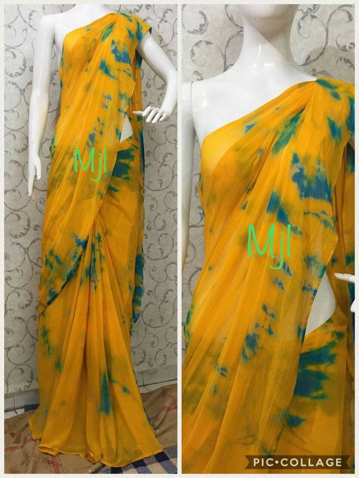 Nazneen chiffon sarees without blouse