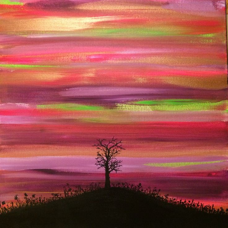 Tree and colours
