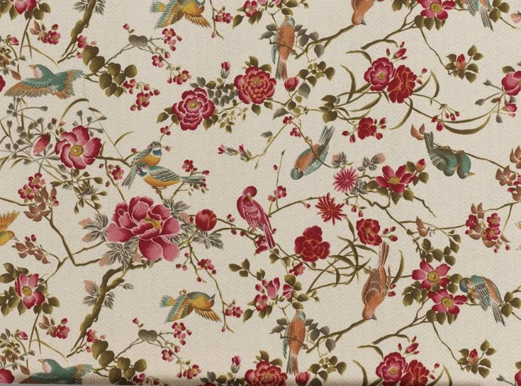 Victorian wallpaper pattern red - photo#26